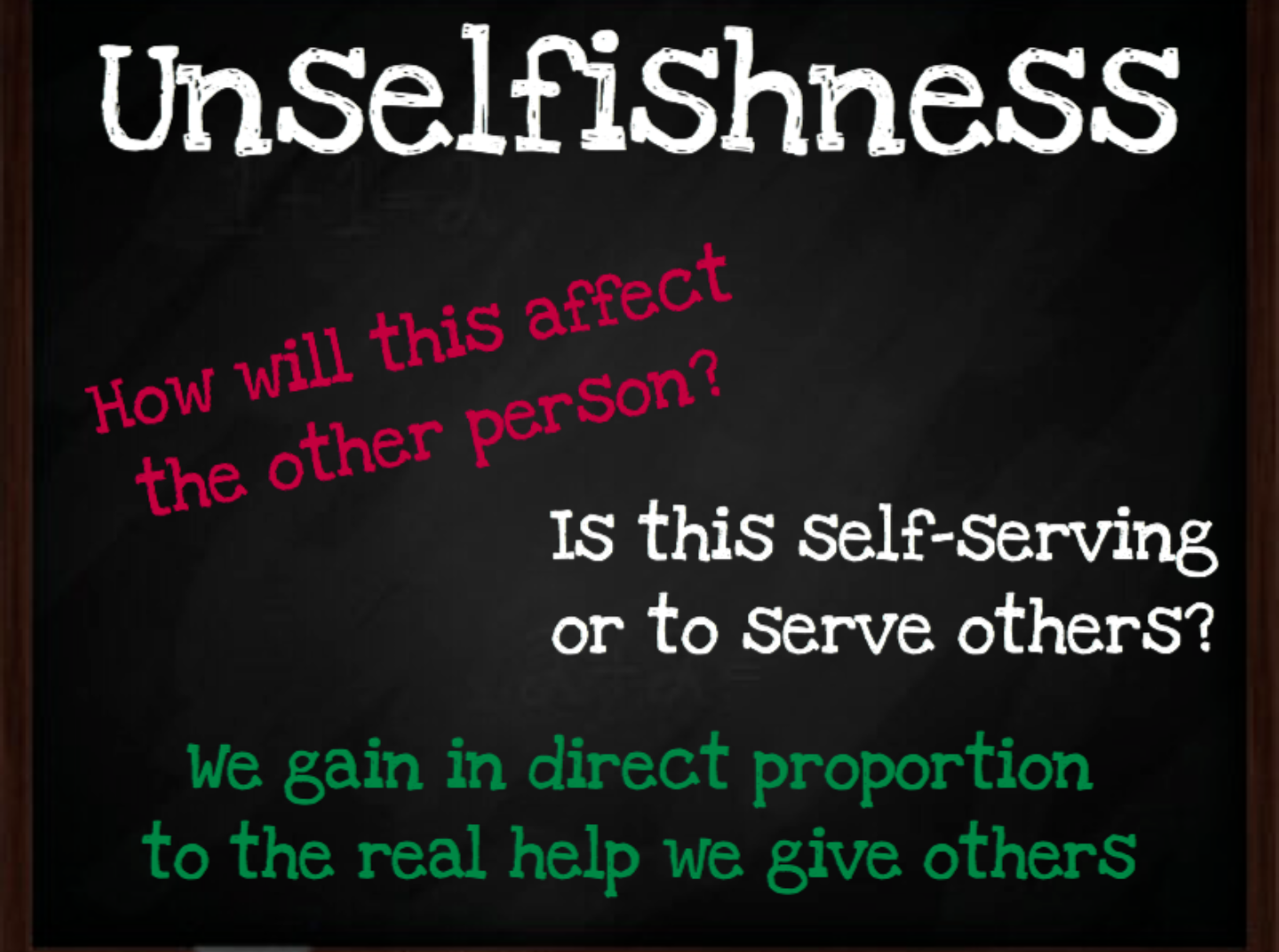 Self-centeredness: what is it